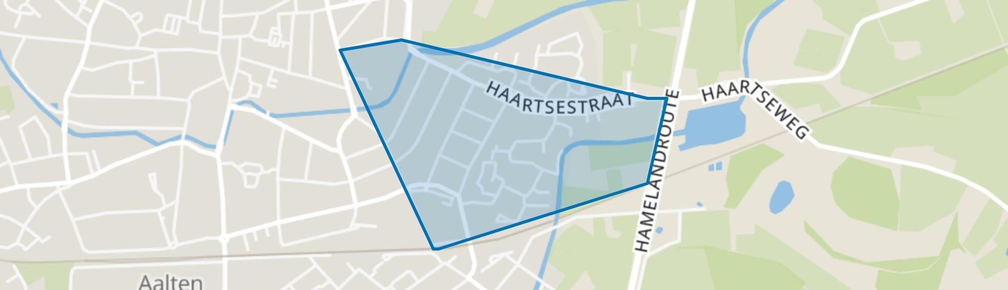Aalten-kern Oost, Aalten map