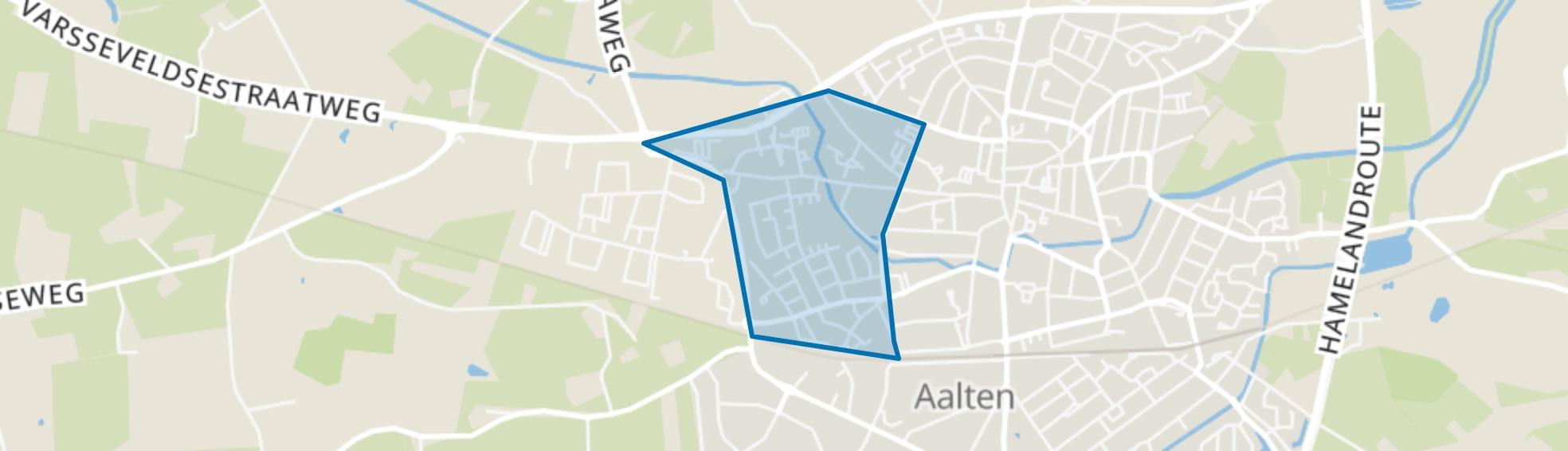 Aalten-kern West, Aalten map
