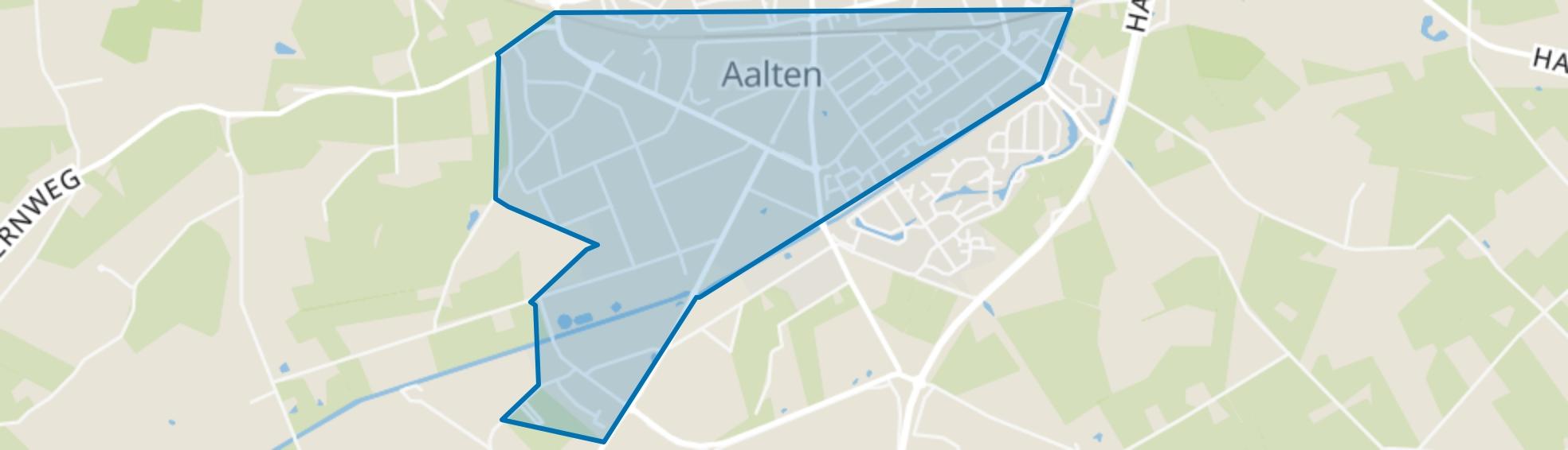 Aalten-kern Zuid 1, Aalten map