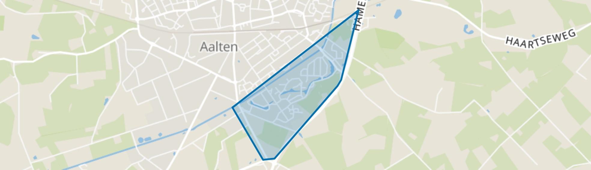 Aalten-kern Zuid 2, Aalten map