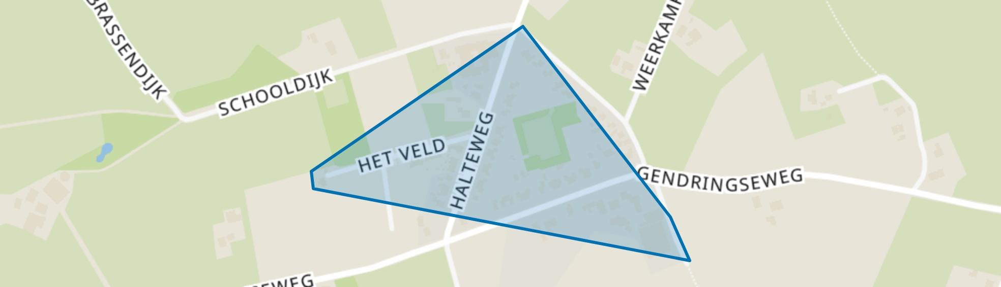 Lintelo-kern, Aalten map