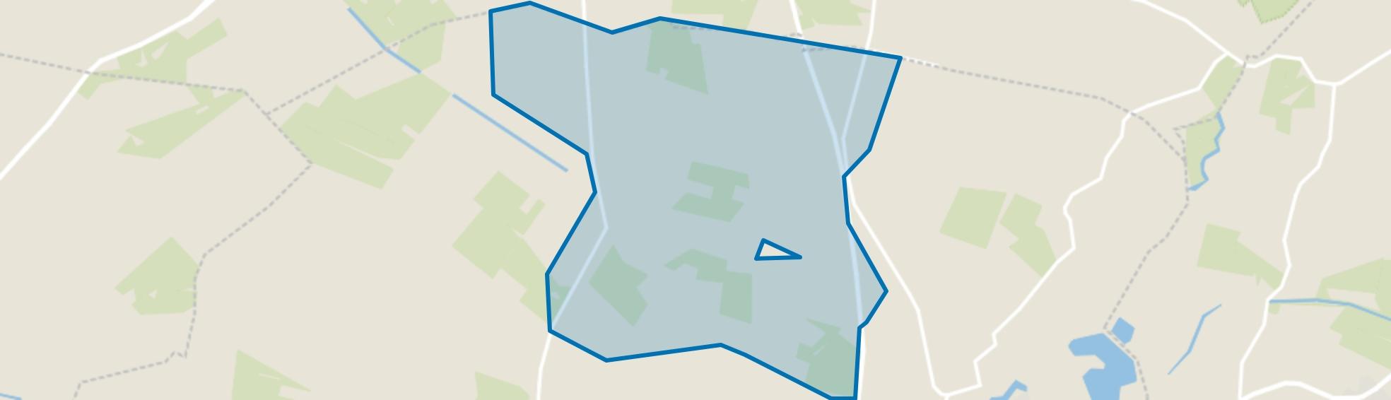 Verspreide huizen Barlo, Aalten map