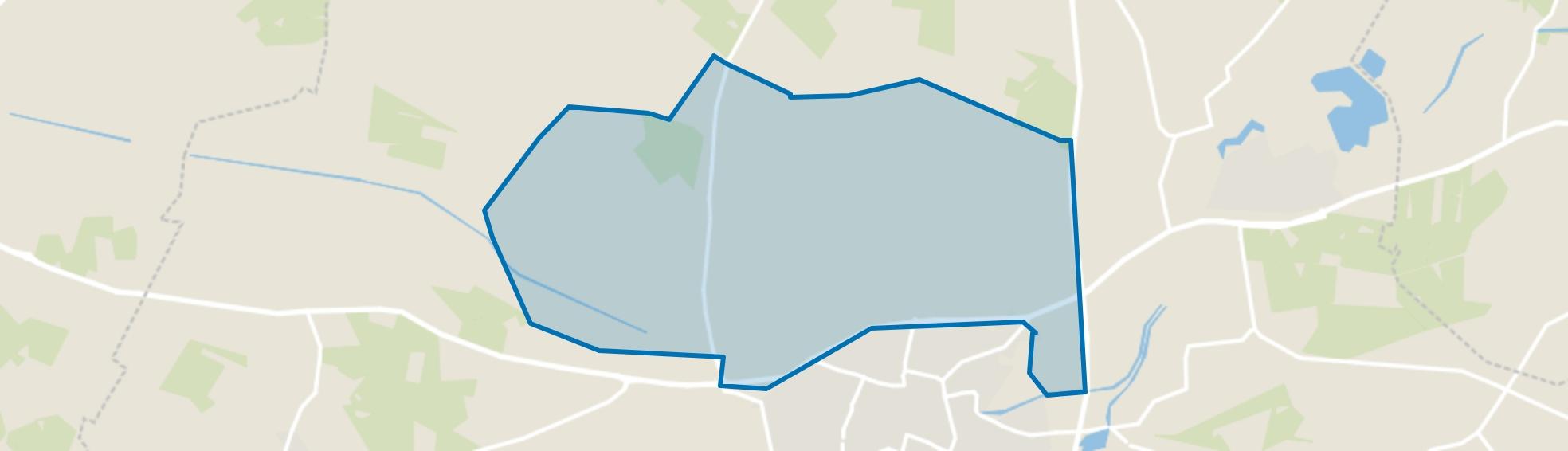 Verspreide huizen Dale, Aalten map