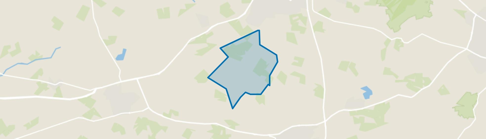Verspreide huizen Dalese Veld, Aalten map