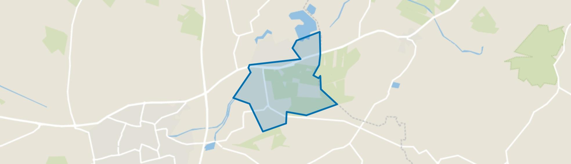 Verspreide huizen Het Zwanenbroek, Aalten map