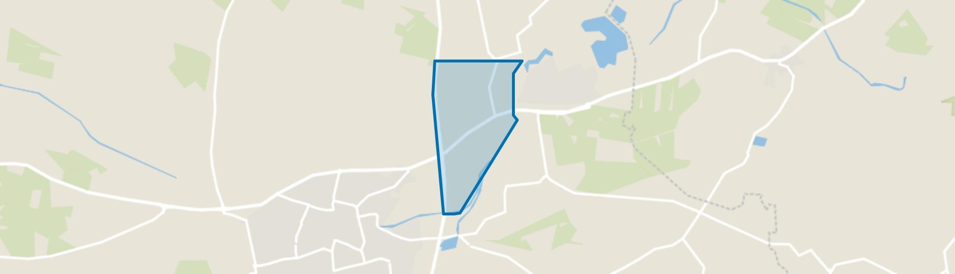 Verspreide huizen Hollenberg, Aalten map