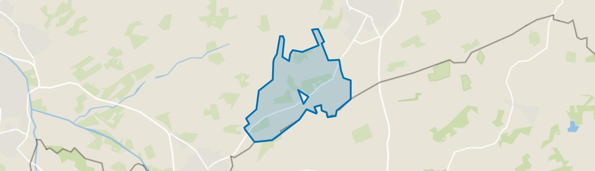 Verspreide huizen IJzerlo, Aalten map
