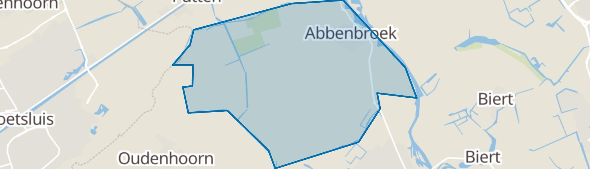 Abbenbroek map