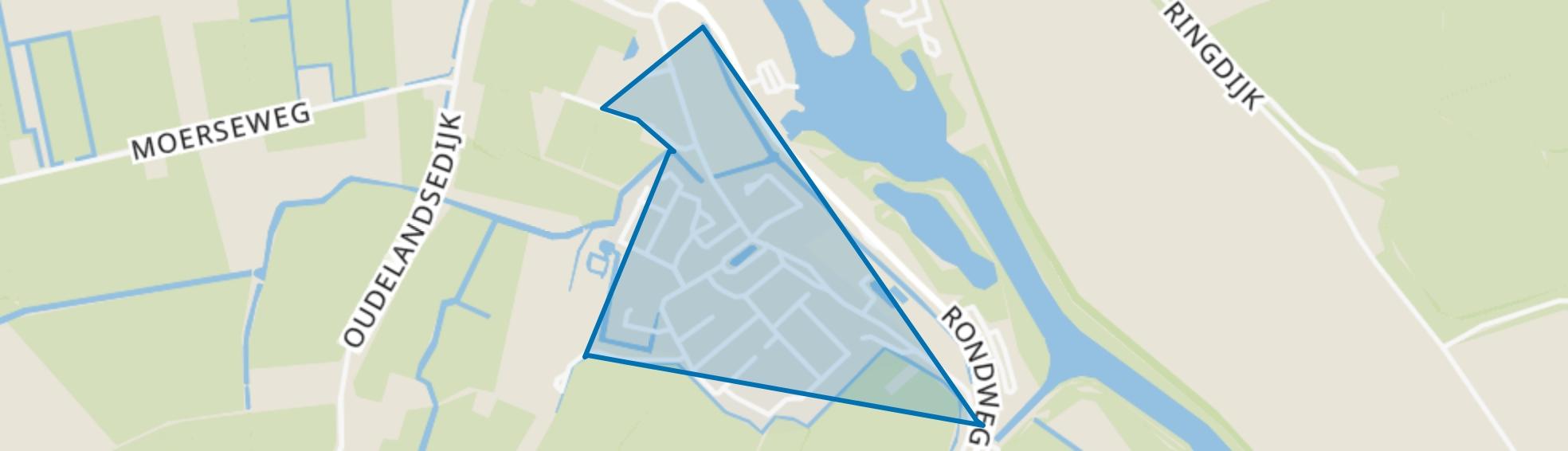 Kern Abbenbroek, Abbenbroek map