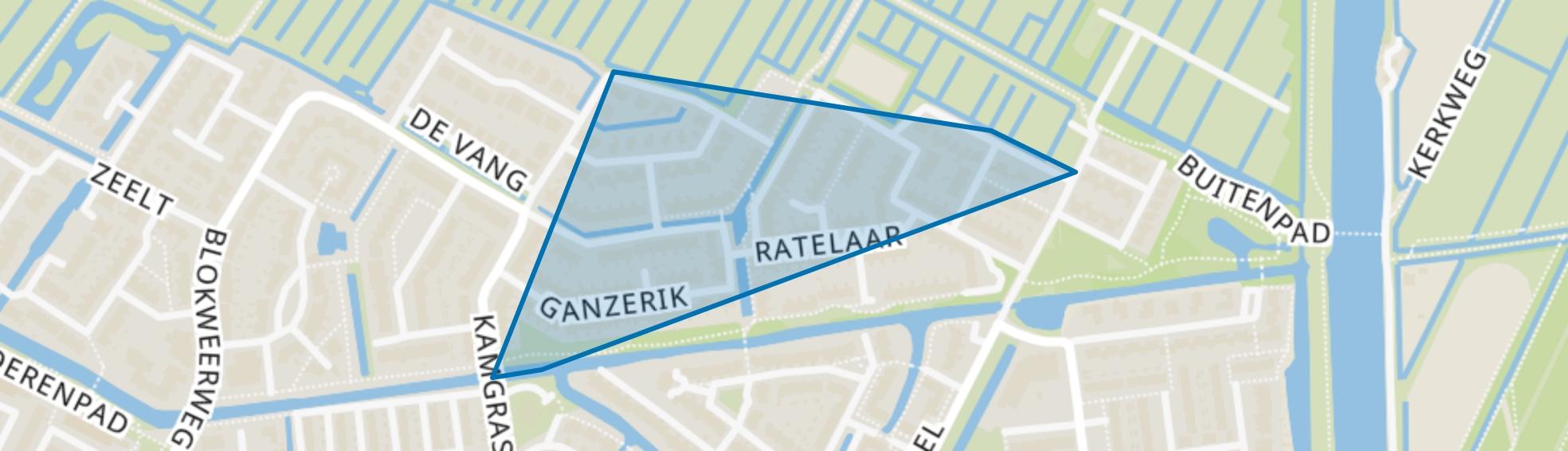 Blokweer Noord, Alblasserdam map