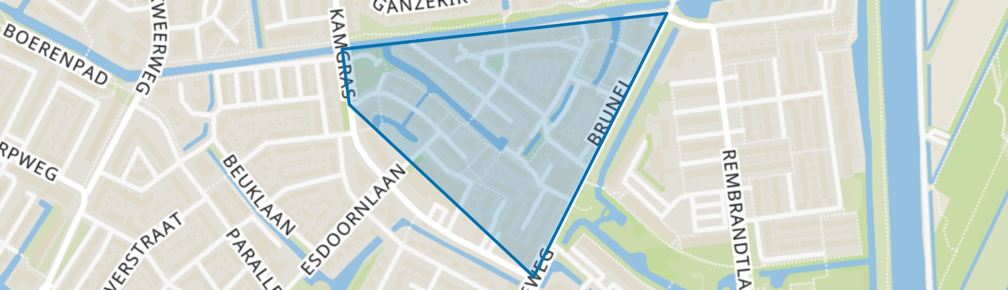 Blokweer Zuid, Alblasserdam map