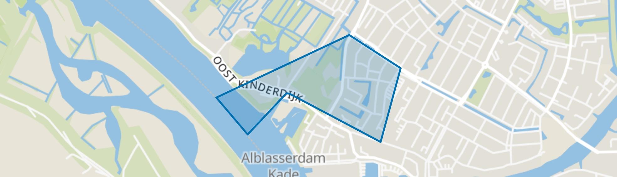 Cortgene, Alblasserdam map