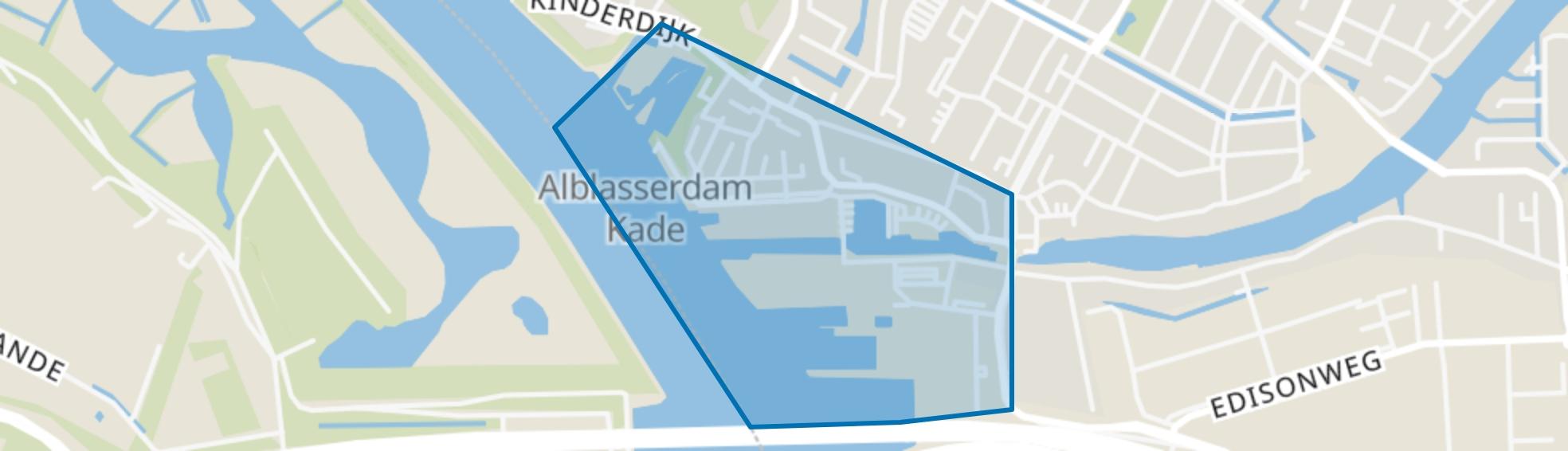 De Werven, Alblasserdam map