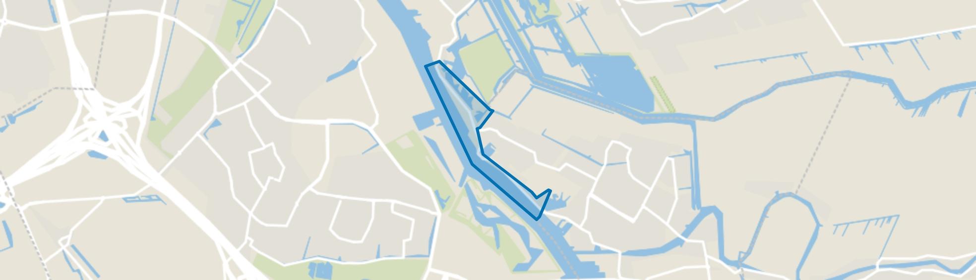 Dijk, Alblasserdam map