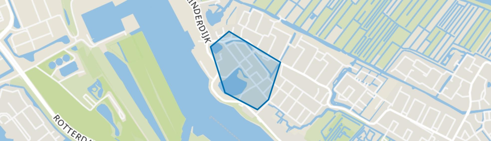 Nieuw Kinderdijk, Alblasserdam map