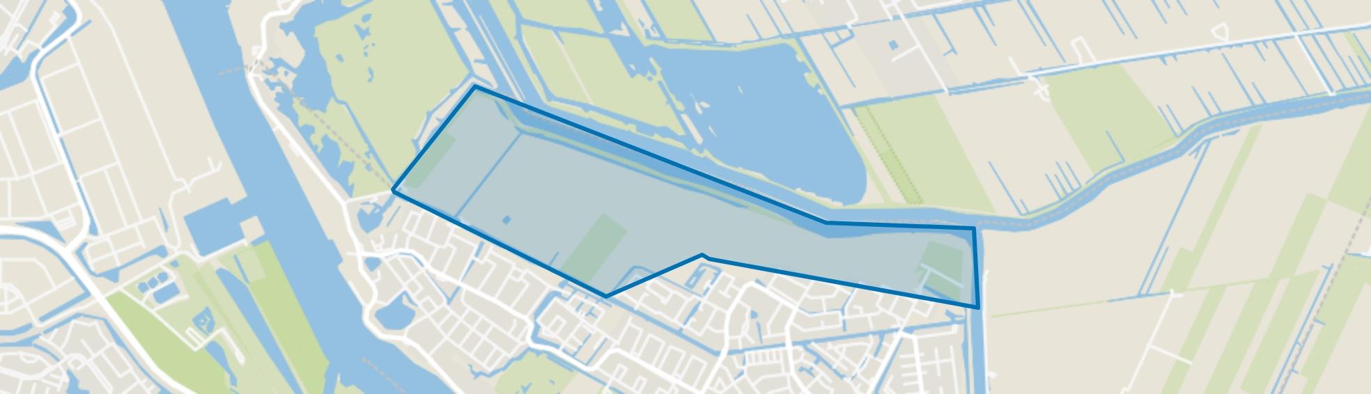 Polder Blokweer, Alblasserdam map