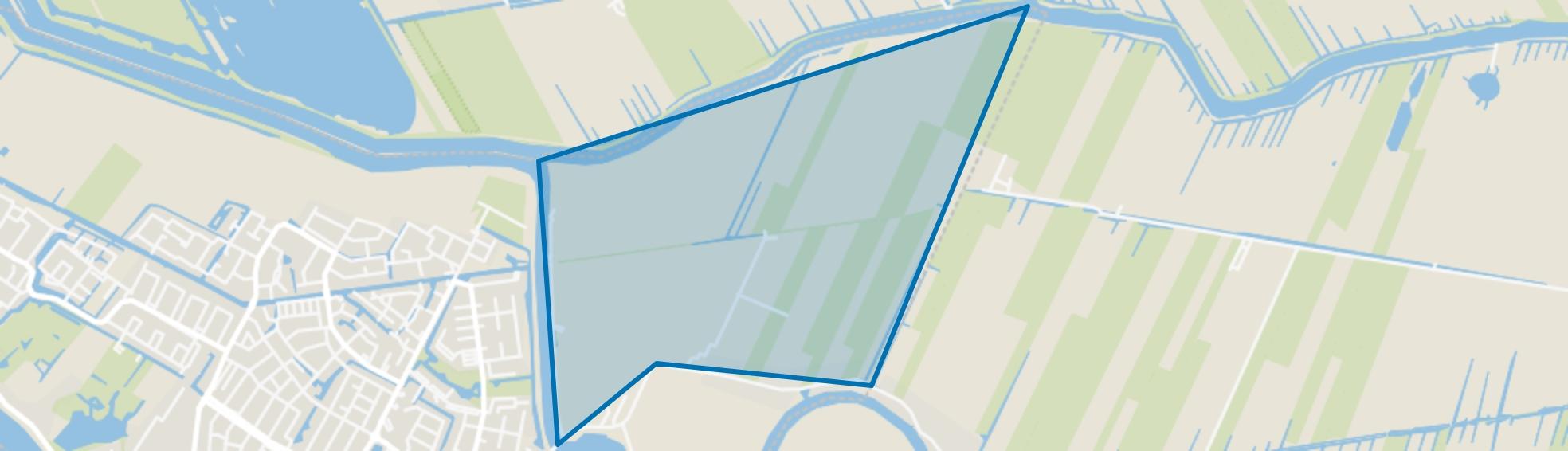 Polder Kortland, Alblasserdam map
