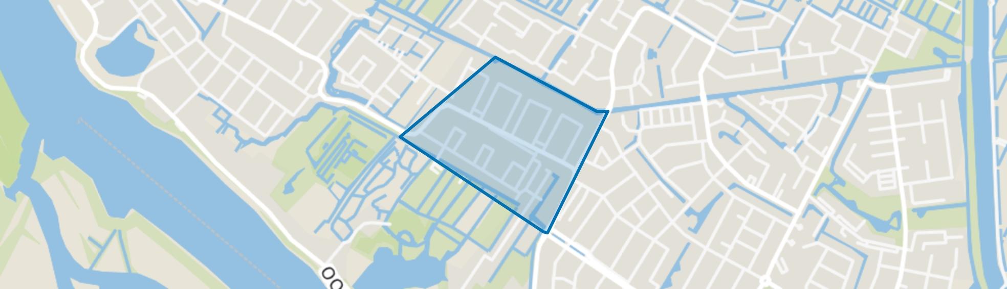 Staatsliedenbuurt, Alblasserdam map