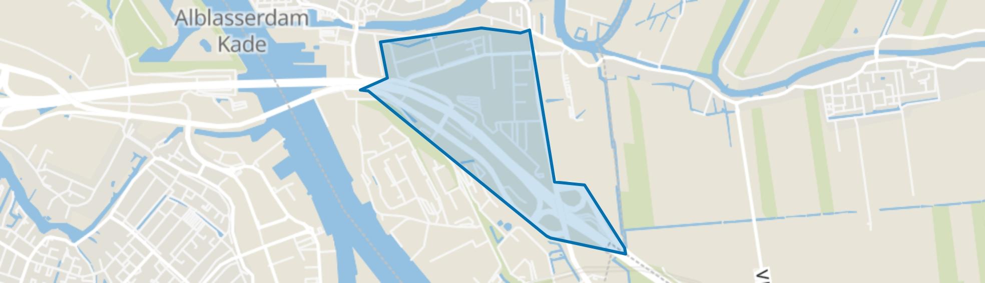 Vinkenwaard, Alblasserdam map