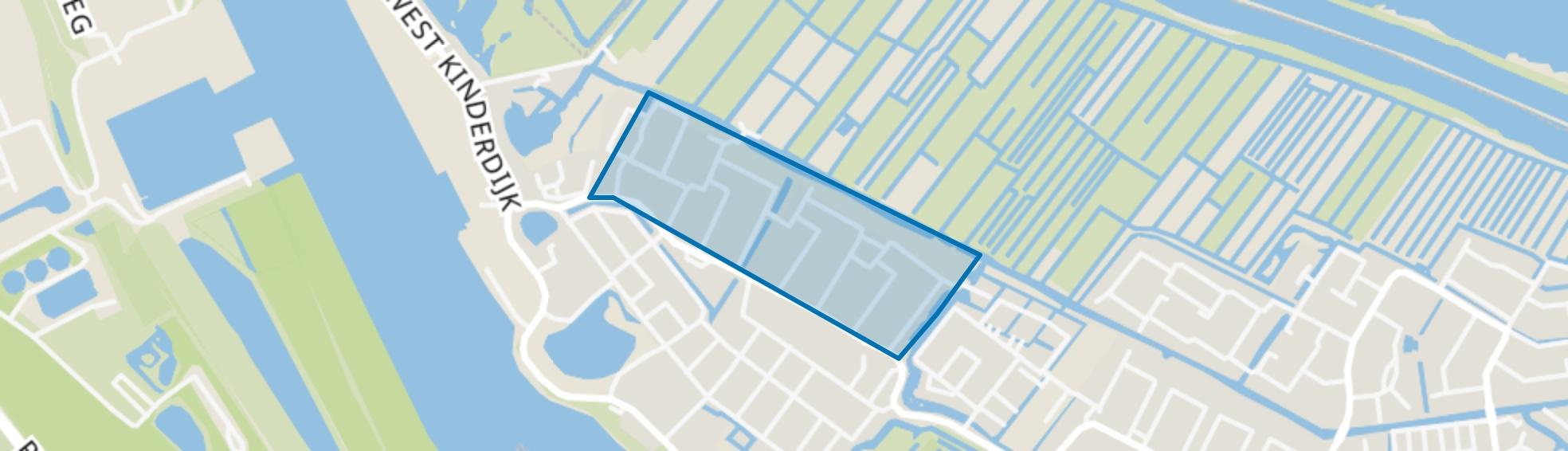Vogelbuurt, Alblasserdam map