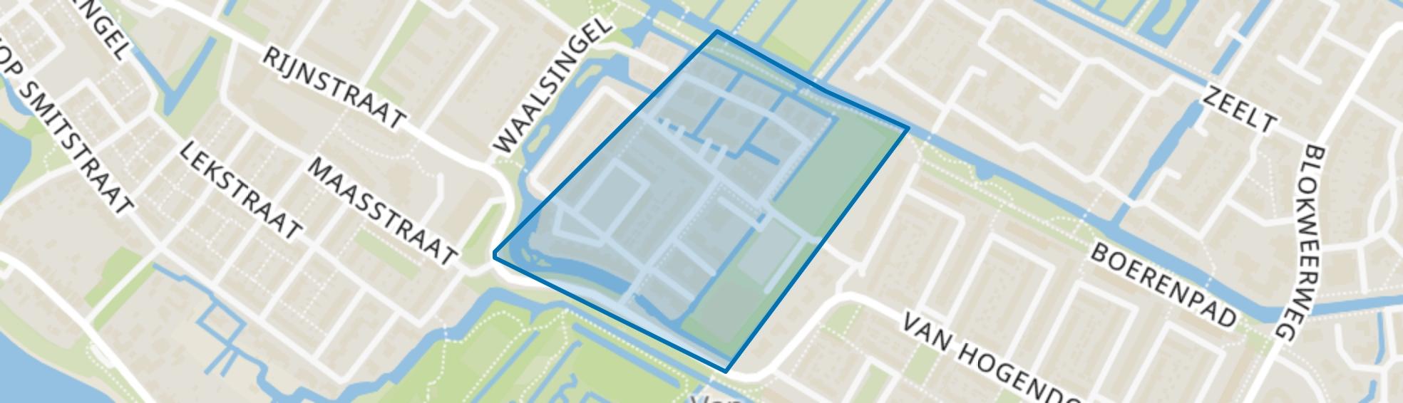 Waterland, Alblasserdam map