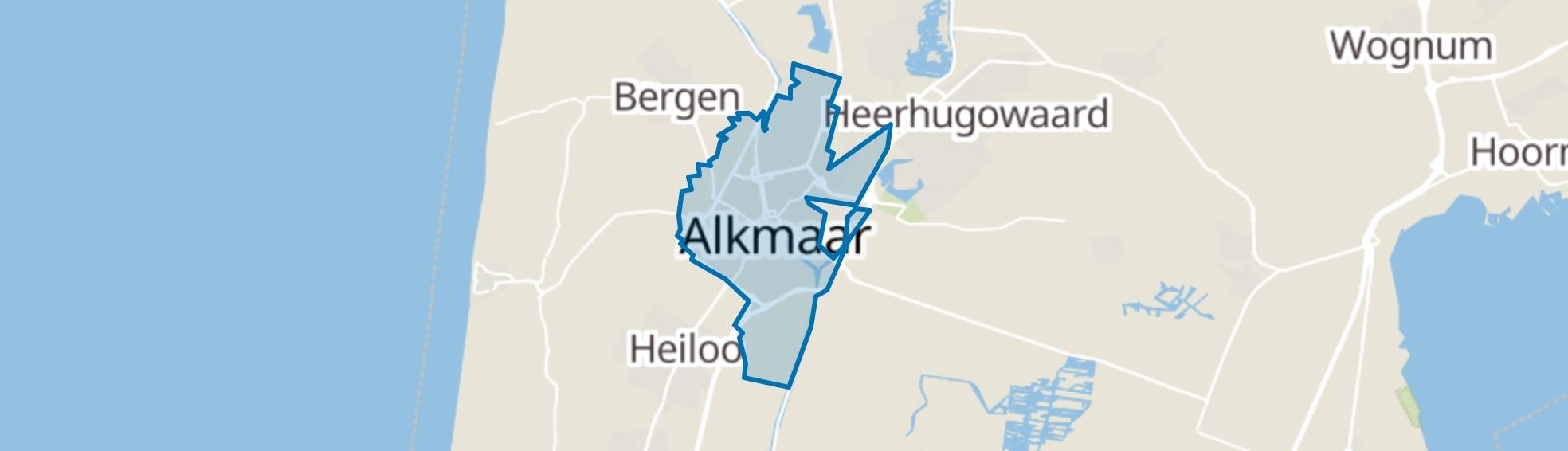 Alkmaar map