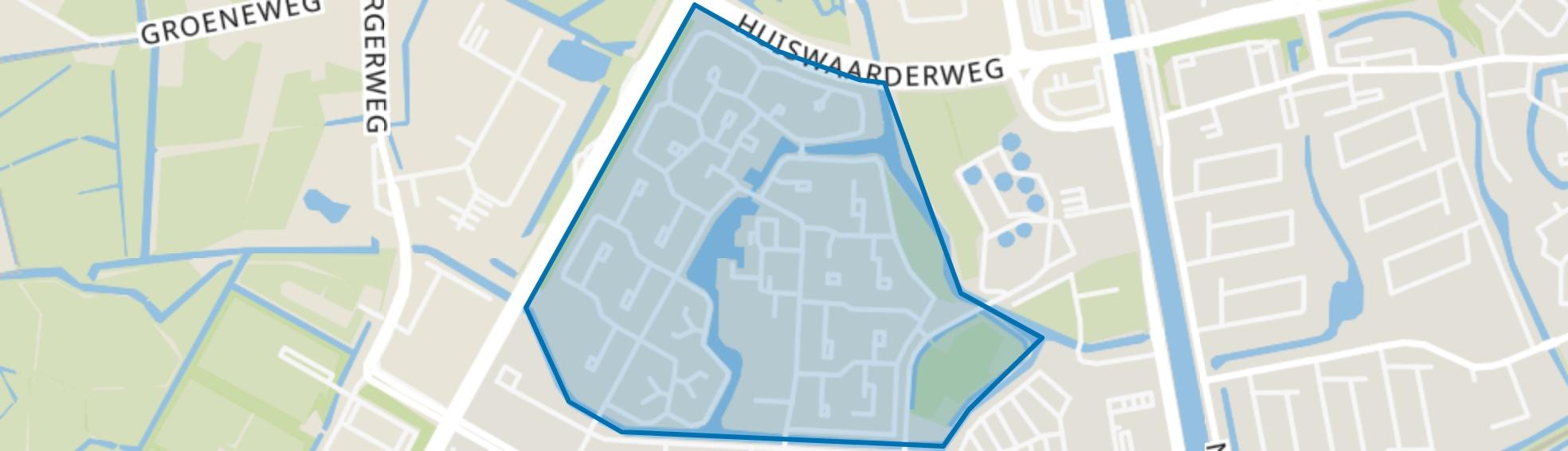 Bergermeer, Alkmaar map