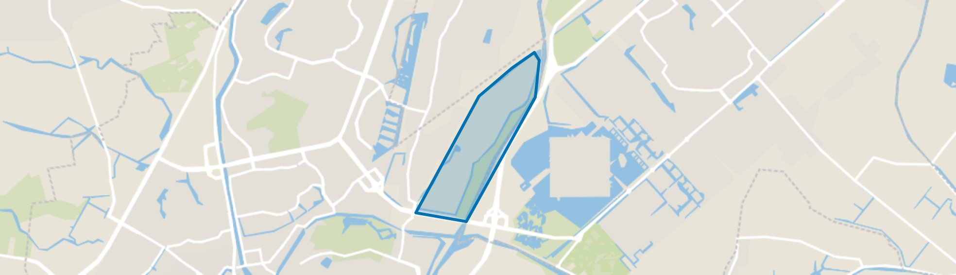 Beverkoog, Alkmaar map