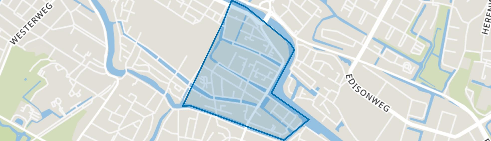 Binnenstad-Oost, Alkmaar map