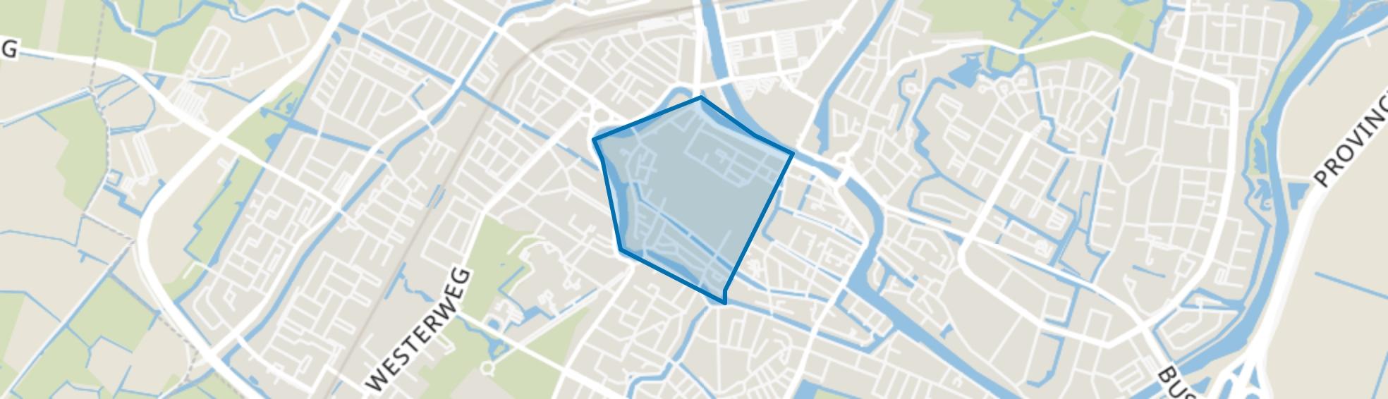 Binnenstad-West, Alkmaar map
