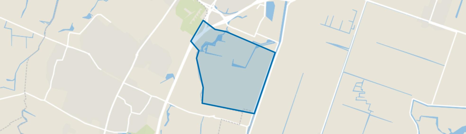 Boekelermeer-Zuid, Alkmaar map