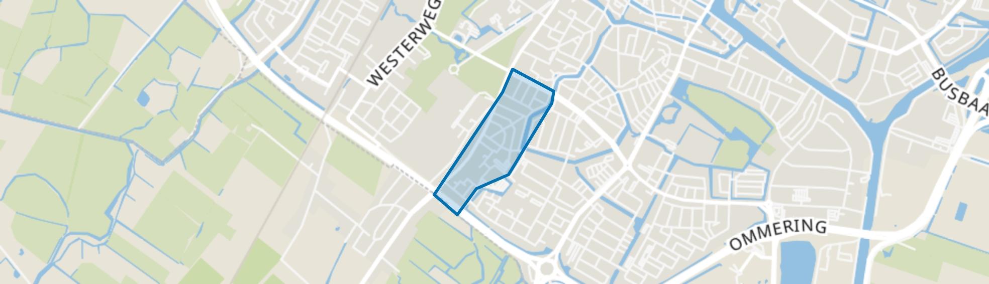 Burgemeesterskwartier, Alkmaar map