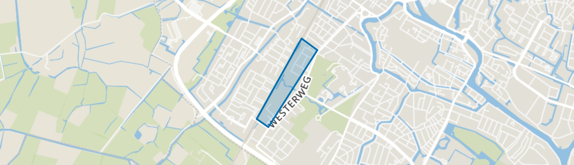 Cranenbroek, Alkmaar map