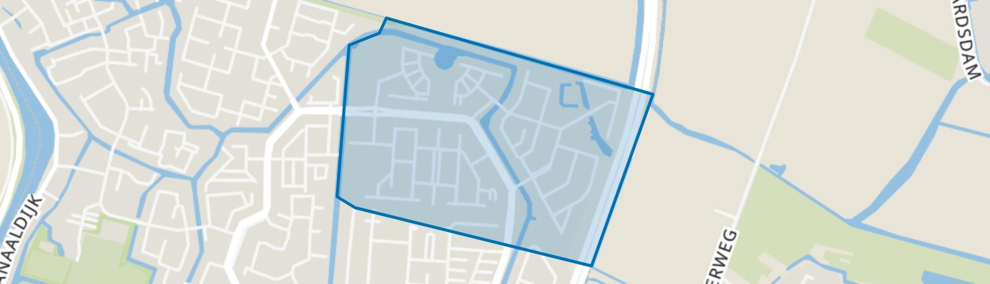 Daalmeer-Noordoost, Alkmaar map