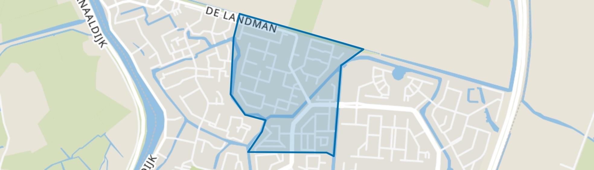 Daalmeer-Noordwest, Alkmaar map