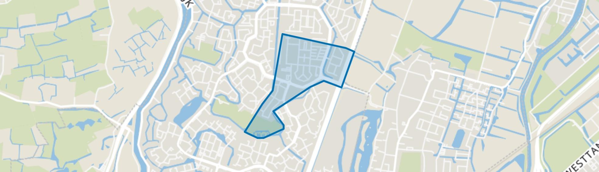 Daalmeer-Zuidoost, Alkmaar map