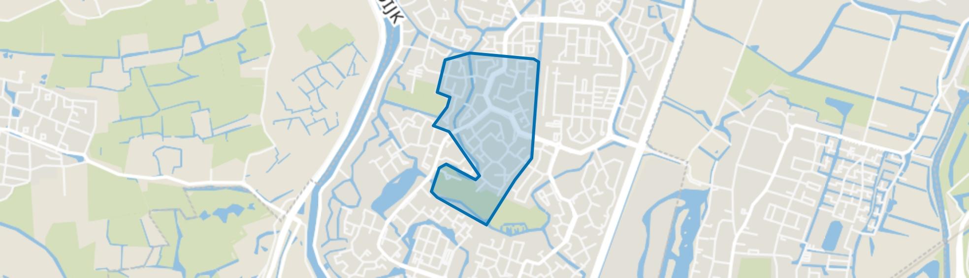 Daalmeer-Zuidwest, Alkmaar map