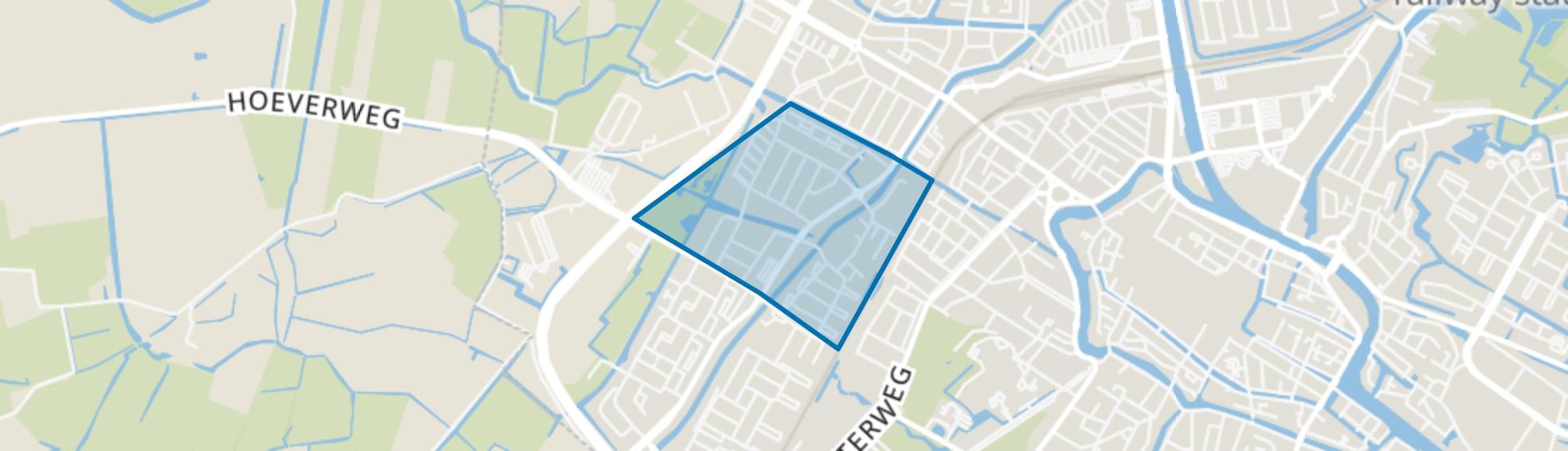 De Hoef I en II, Alkmaar map