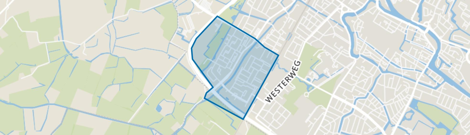 De Hoef III en IV, Alkmaar map