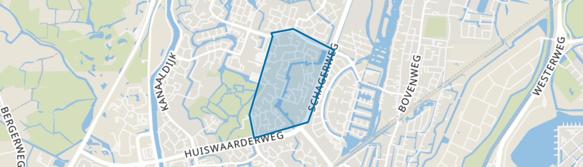 De Horn-Zuid, Alkmaar map