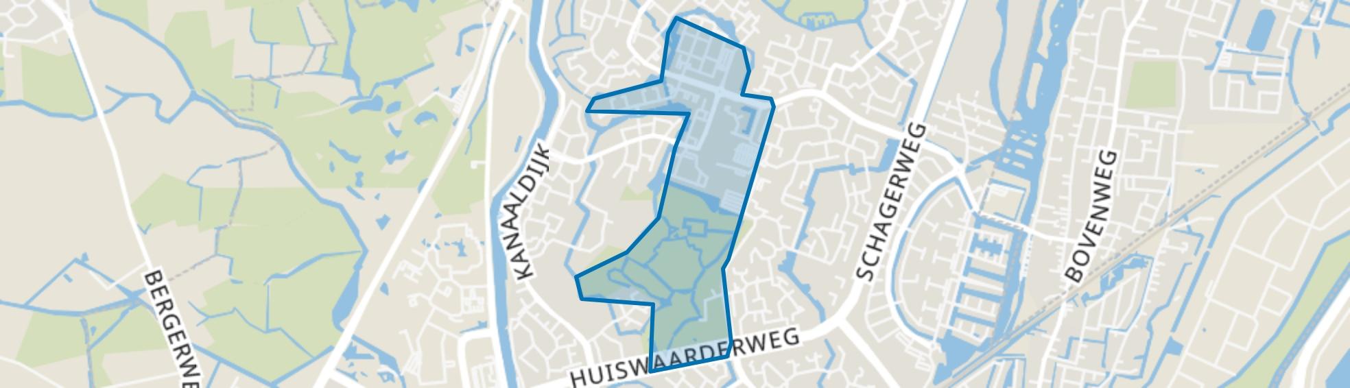 De Mare, Alkmaar map