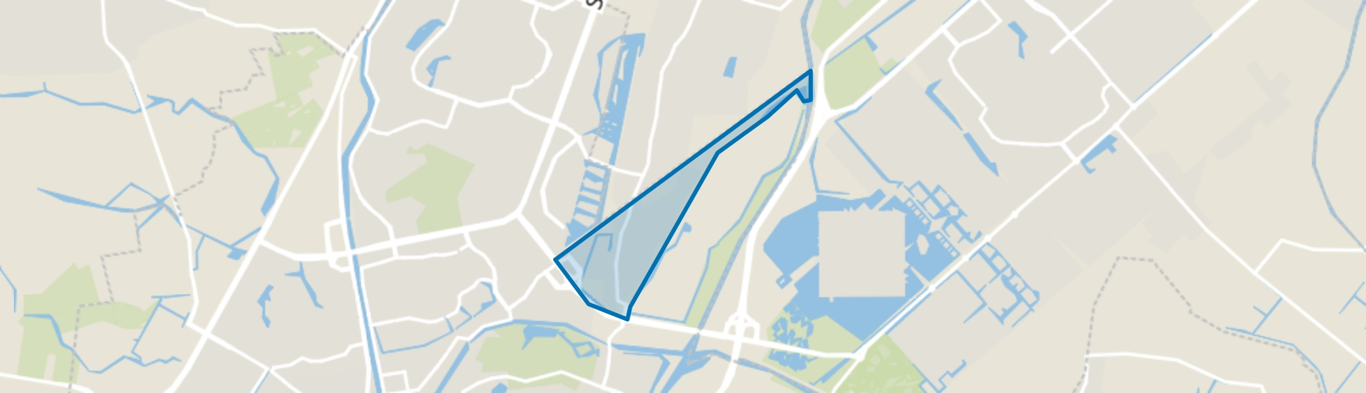 De Nollen, Alkmaar map