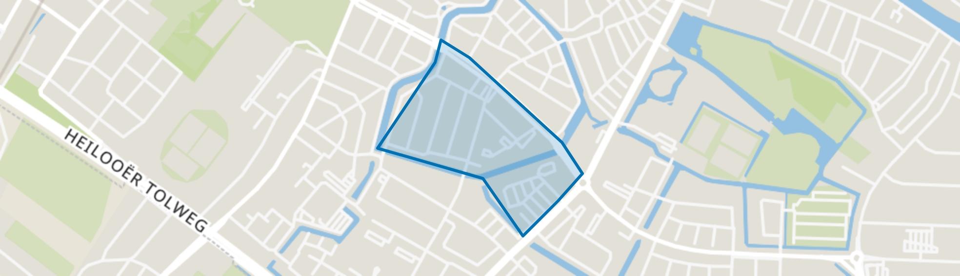 Dillenburg en Stadhouderskwartier, Alkmaar map