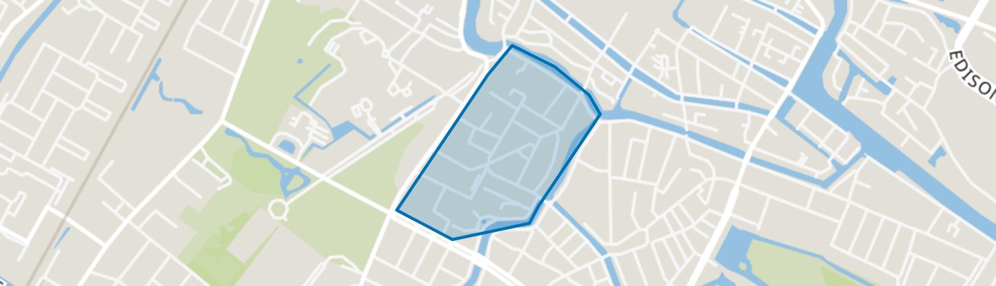 Emmakwartier, Alkmaar map