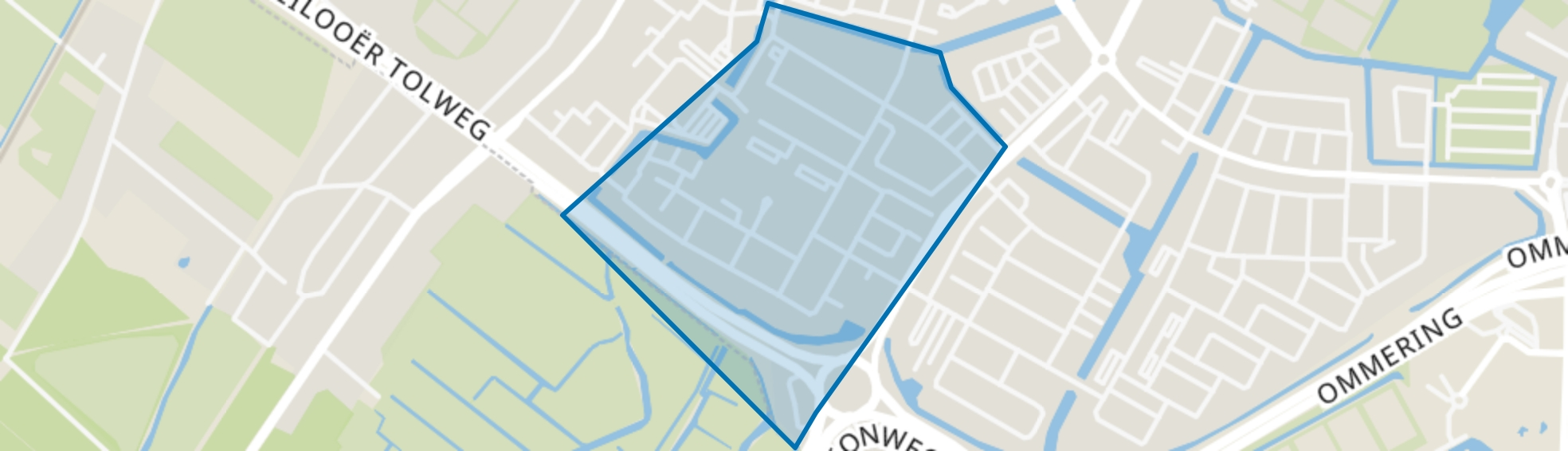 Kooimeer, Alkmaar map