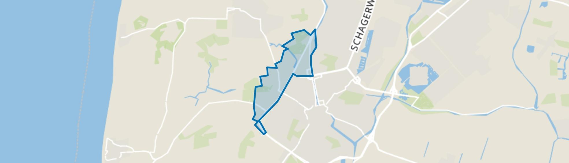 Landelijk gebied-West, Alkmaar map