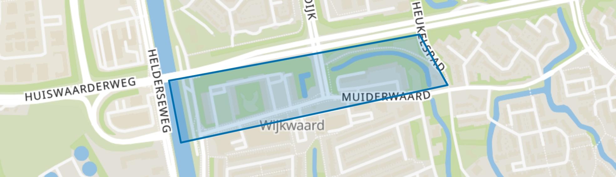 Muiderwaard, Alkmaar map