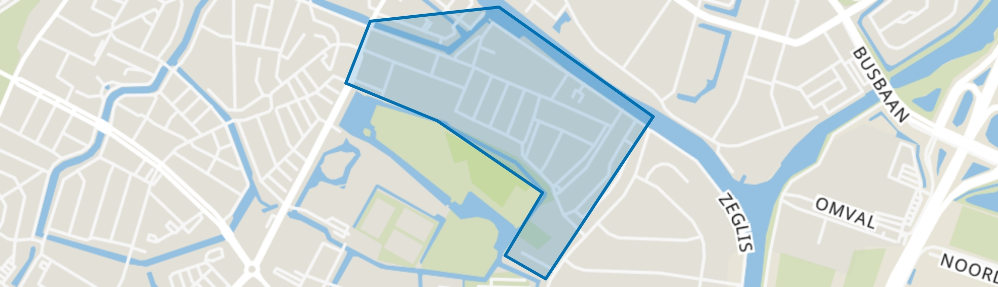 Oud-Overdie, Alkmaar map