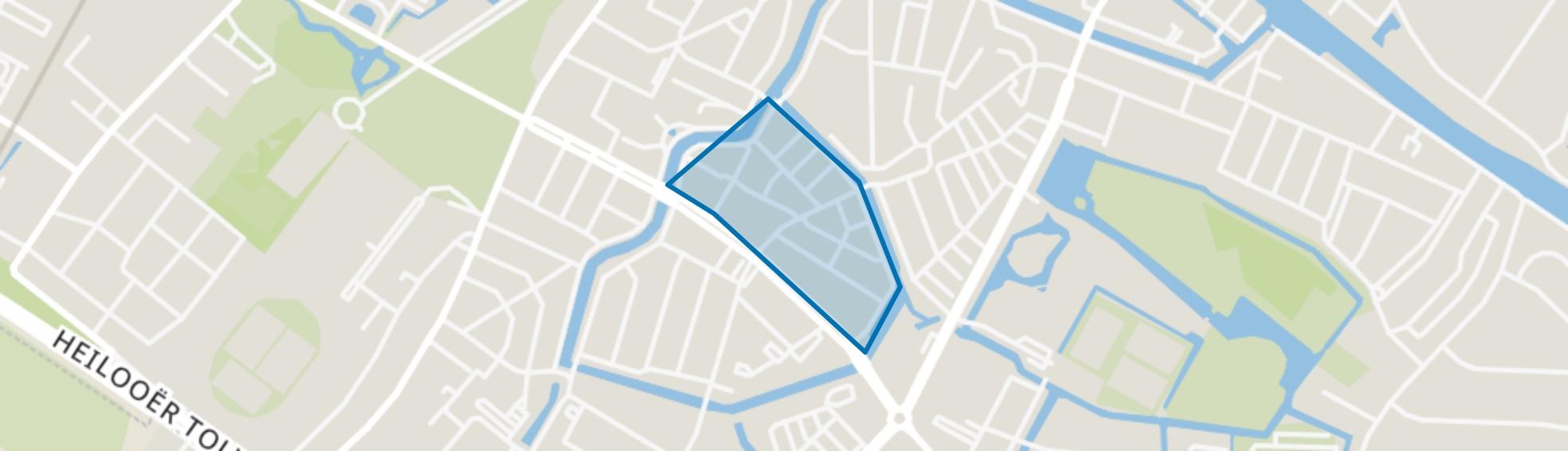 Oud-Rochdale, Alkmaar map