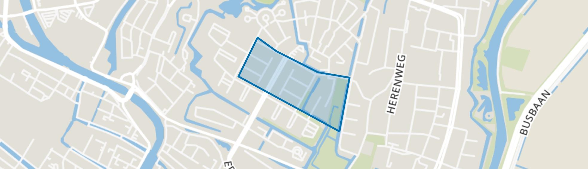 Oudorperpolder-Midden, Alkmaar map